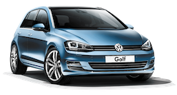 VW Golf 7 Diesel or similar (CDMR)