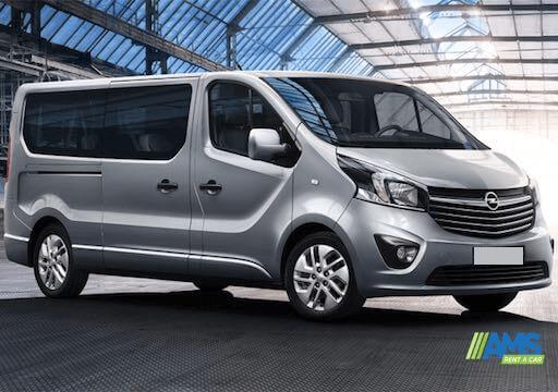 Minibus Rental 8 1 seats