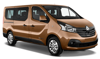Renault Trafic 9 seats or similar (SVMR)